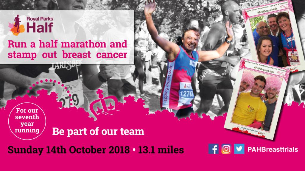 Half Marathon, Epping, Breast Cancer Support, Running
